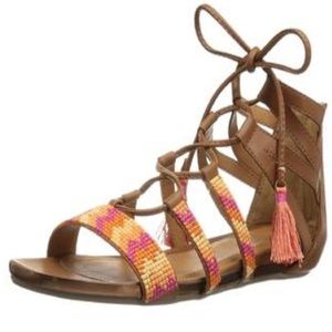 Kenneth Cole Reaction Gladiator Sandals Size 6